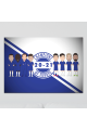 Chelsea Champions Of Europe 2021 Aluminium Wall Art A4 Or A3