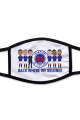 Rangers 55 Times Champions Of Scotland 2021 Face Mask