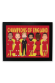 Liverpool Champions Of England Framed Print