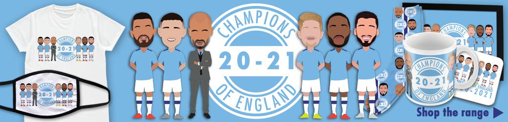 Man City Champions 2021