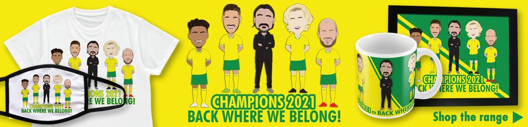 Norwich Champions 2021